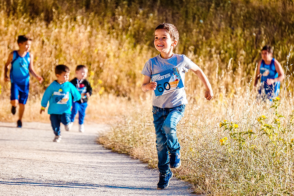7 running games for kids