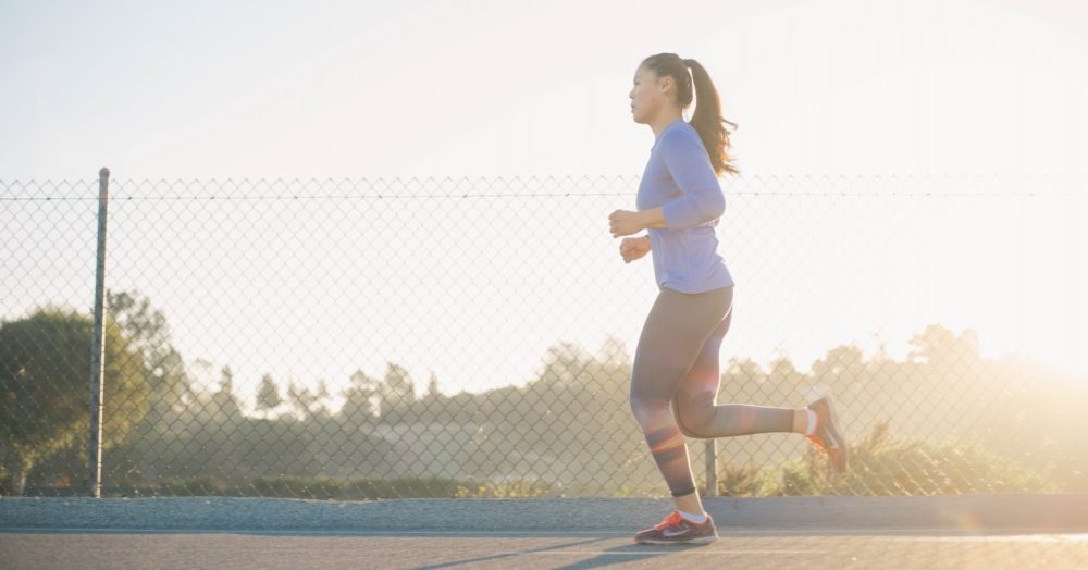 Can I lose my belly fat by running