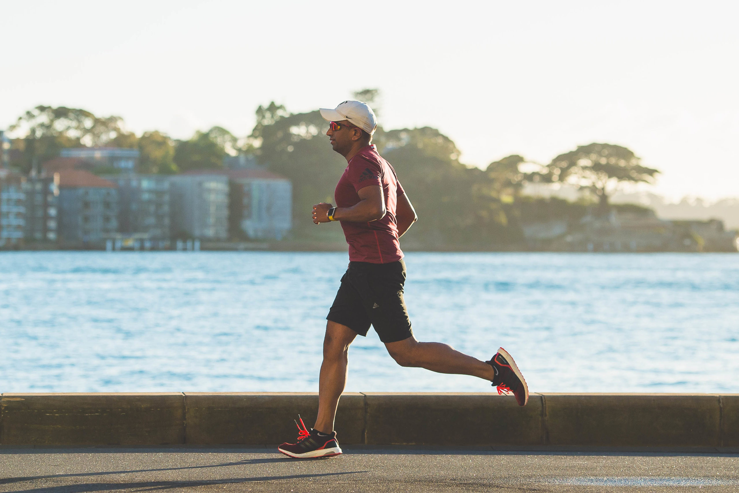 Do runners age faster