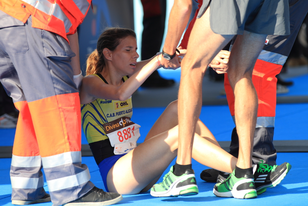 What to do if someone passes out from running